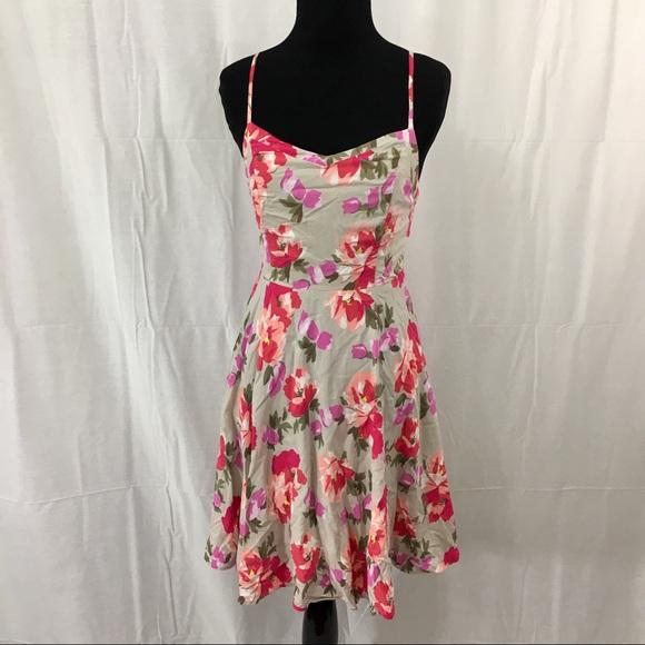 fff6d3b800373 Old Navy floral fit & flare cami dress